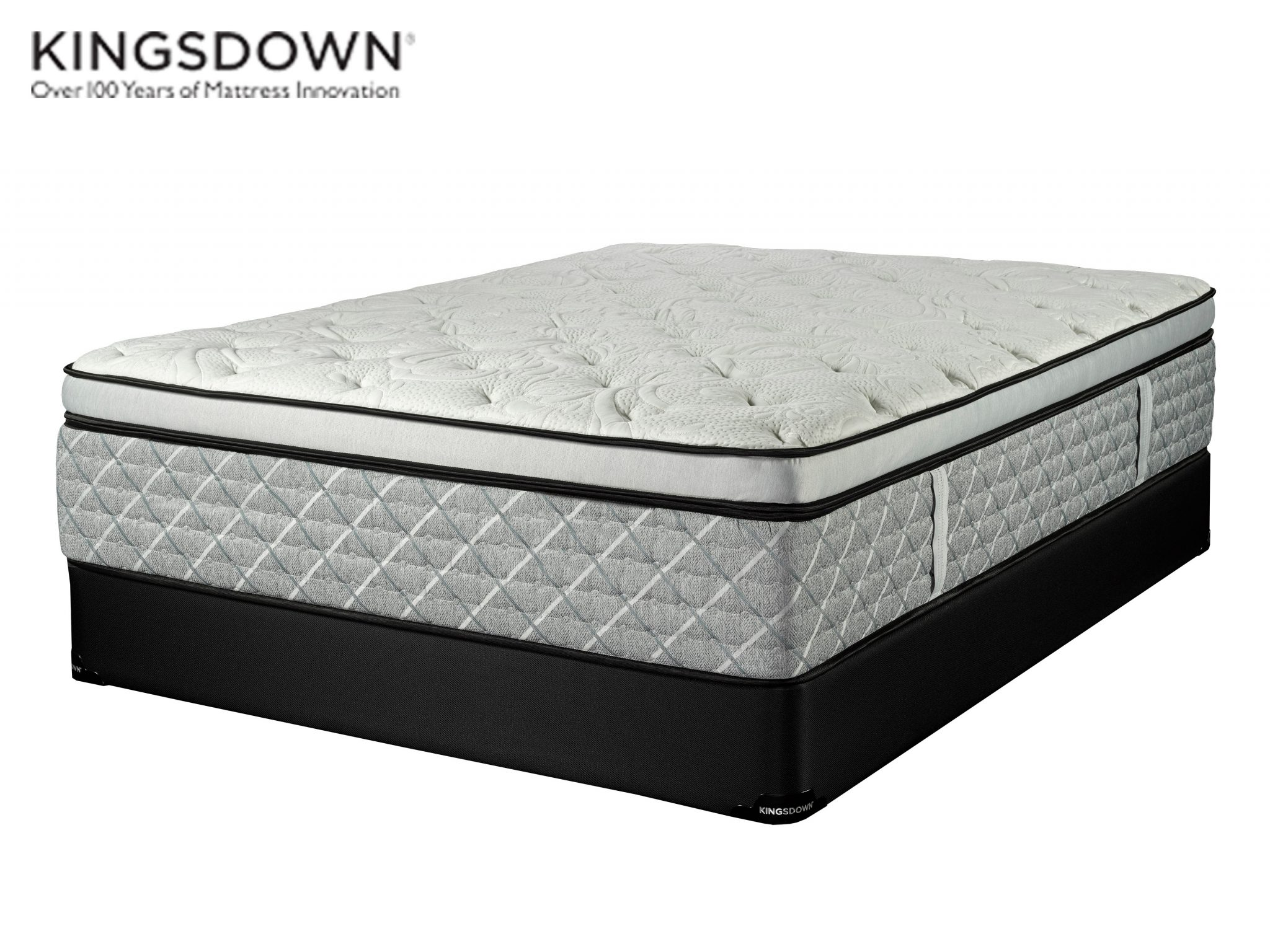 Devonshire Euro Top Plush Kingsdown Solo Collection Sleep Guide Mattress